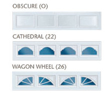 garage door window option